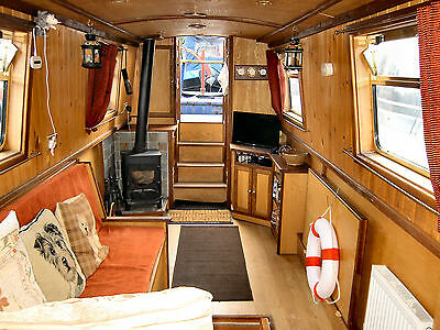 Grayling – 57' Narrowboat for Sale
