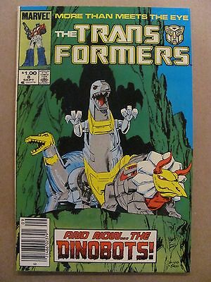Transformers #8 Marvel Comics 1984 Series Canadian Newsstand $1.00 Price Variant