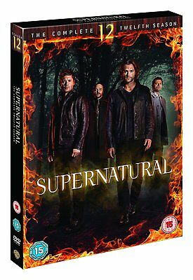 Supernatural Season 12 Complete DVD Boxset New & Sealed UK Compatible