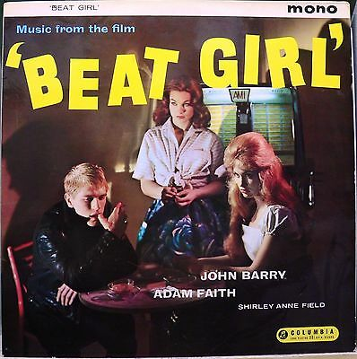 BEAT GIRL - Music From The Film LP Vinyl  JOHN BARRY ADAM FAITH SOUNDTRACK