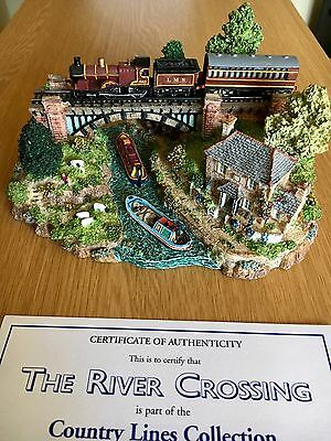 DANBURY MINT Country Lines Collection Sculpture - The River Crossing