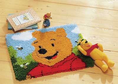 Vervaco - Latch Hook Rug Kit - Winnie the Pooh - Disney -  PN-0014722
