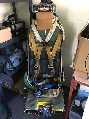 Martin Baker Ejector Seat and Rail from JP T5 in Stand - Inert No Paperwork