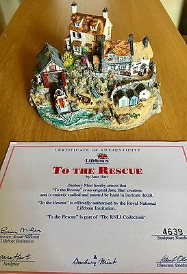 Danbury Mint RNLI To The Rescue by Jane Hart Country Village Collection