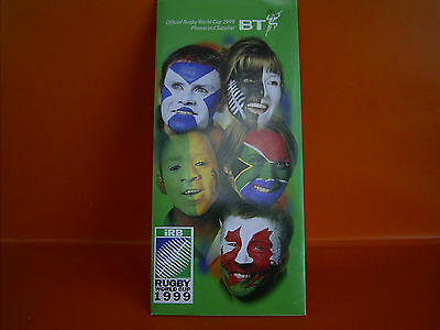 BT Phonecards Special Edition Collectors' Pack - iRB Rugby World Cup 1999 -
