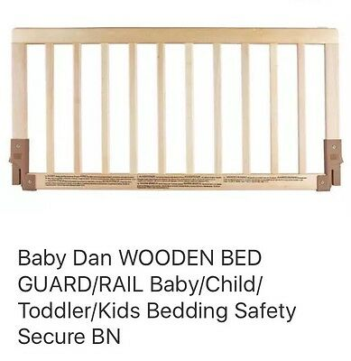 babydan wooden bed guard - FREE POST