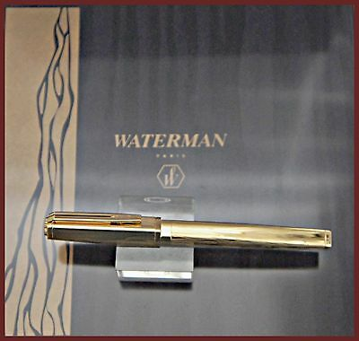 Rare Waterman Marks Of Time 527/1000 Vermeil  Limited Edition  Fountain Pen