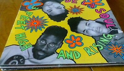 De La Soul - 3 Feet High And Rising  Lp  Made In Italy