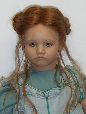 """Beautiful 26"""" Pre-owned Kathe by Annette Himstedt 1986 w/Box & COA w/Velour Body"""