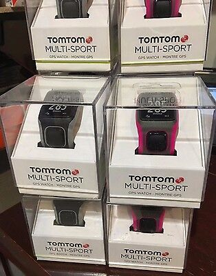 TomTom Multi-Sport GPS Watch with Heart Rate Monitor ( New)