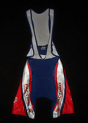PACTIMO SPORTS APPAREL Sleeveless CYCLING JERSEY BIB SHORTS SINGLET Chamois M