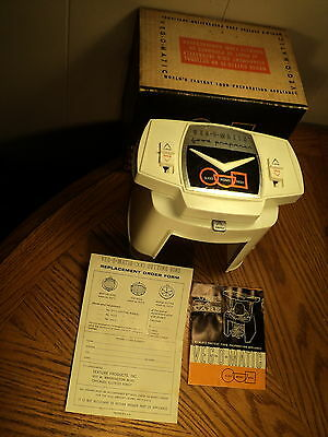 Veg O Matic Food Processor Preparation Appliance w/ Original Box & Instructions