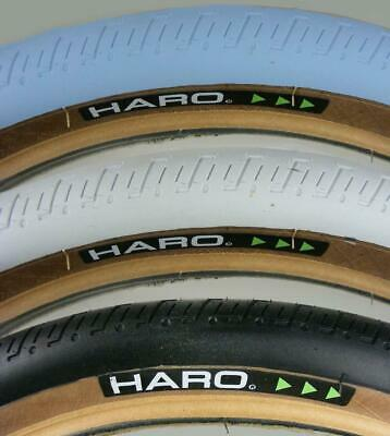 Haro HPF Skinwall Tyre Old School BMX 20x 2.0 or 2.2 White or Black