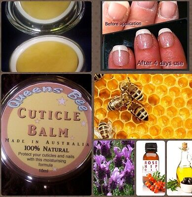 AMAZING CUTICLE BALM! Only 4 ingredients, Made in Australia. Free postage in Oz