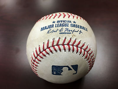 MYSTERY BALL Home Run Ball from Ivy Game Used Major League Baseball PNC Park