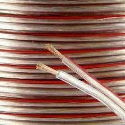 10m 2x 0.75mm 18AWG Multi-Strand Loud Speaker Cable for Home / Car HiFi Audio