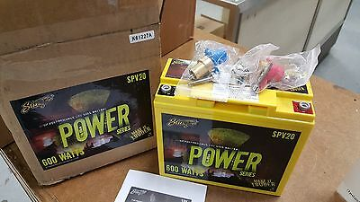 Stinger SPV20 Battery 300 AMPS 600 Watts Power Series Dry Cell Car Audio New