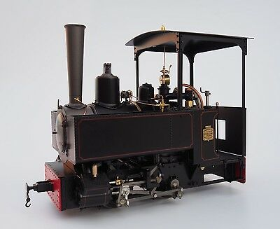 Accucraft B77-533 Decauville Type 1, black, 0-4-0T, Live-Steam, 7/8ths Scale