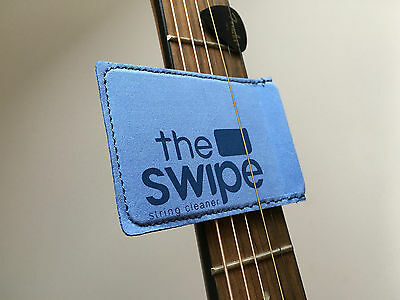 The Swipe String Cleaner! Great For Any String Instrument! LOOK!