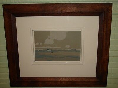 Arts & Crafts Gouache Stickley Era Arthur Wesley Dow Style