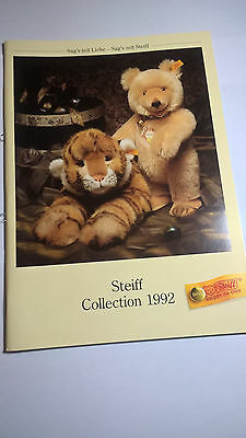 Katalog - Steiff Collection 1992