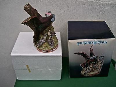 Austin Nichols  Wild Turkey With Poults  Decanter  With Box  Large Size  Ltd Ed