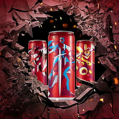 3pcs & 2017 China transformers 5 movie coca coke cola 330ml can empty