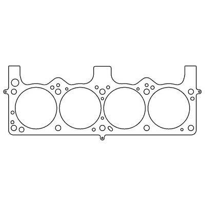 "Cometic Head Gasket C5554-030; MLS Stainless .030/"" 4.040/"" for Chrysler Dodge"