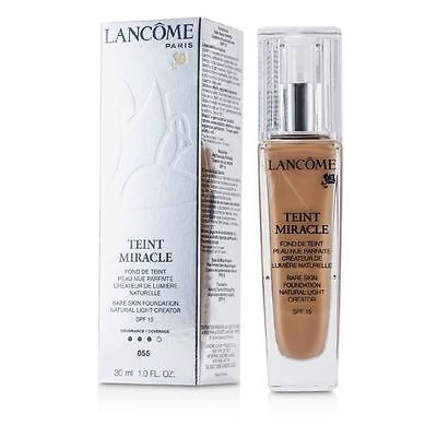 Lancome Teint Miracle Foundation SPF15 #010 Beige DAMAGED PACKAGING FREE P&P