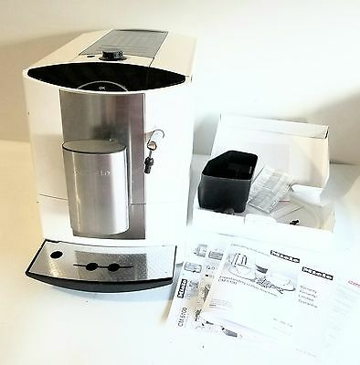 Miele CM5100 White Countertop Coffee System Maker - EXCELLENT!