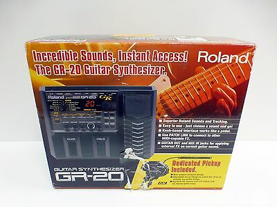 Roland GR-20 Guitar Synthesizer Effects Pedal + GK-3 Dedicated Pickup Used