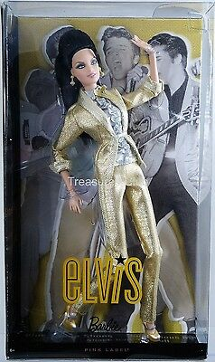 Elvis Barbie Doll Barbie Collector Pink Label #T7907 New NRFB 2010 Mattel, Inc.