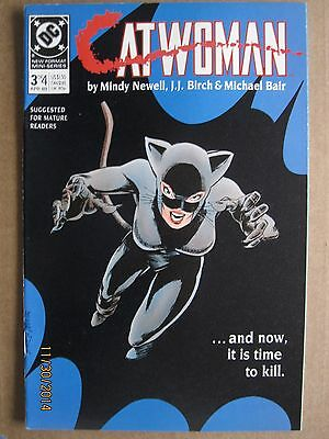 1989 Dc Comics Catwoman #3 #4 Limited Mini Series Lot Of 2