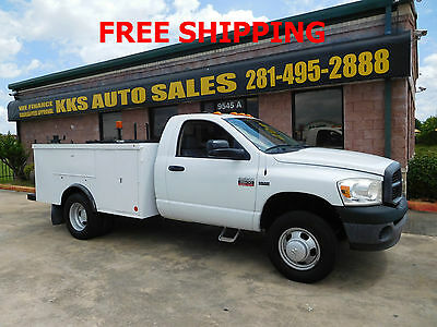 2008 Dodge Ram 3500 ST UTILITY SERVICE TRUCK LOW MILES 36K 2008 Dodge Ram 3500 dully utility service truck  5.7 hemi engine low mile 36k