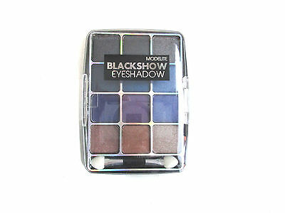 PALETTE OMBRE A PAUPIERES - EYESHADOW .MODELITE CHARBON 12 g MAQUILLAGE BEAUTE