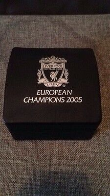 Liverpool Fc Limited Edition Chronograph Watch European Champions 2005