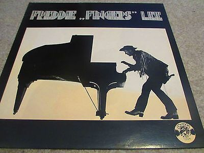 "Freddie ""Fingers"" Lee - Self-Titled 12"" LP White Label Charly 1978 EX-/EX-"