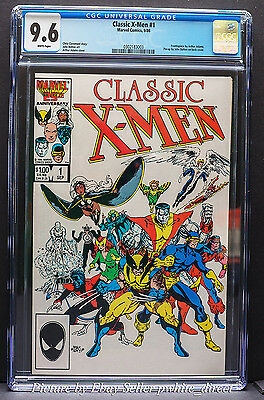 Classic X-Men #1,CGC: 9.6, (Sep 1986, Marvel)