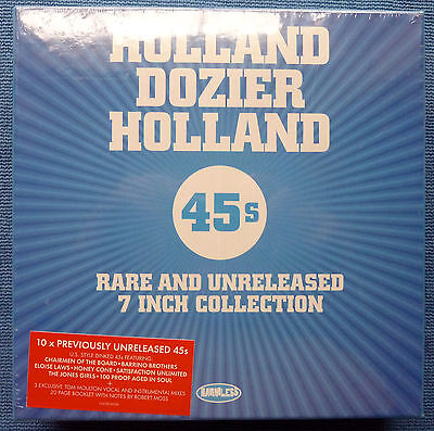 'Holland Dozier Holland-Rare & Unreleased 10x7s Boxset'- Factory Sealed & MINT!