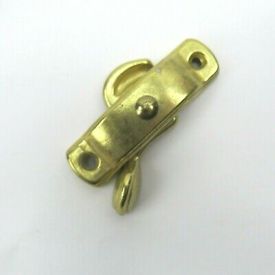 Vintage Brass Window Latch Lock Handle Antique Retro NEW Finshed w/hardware