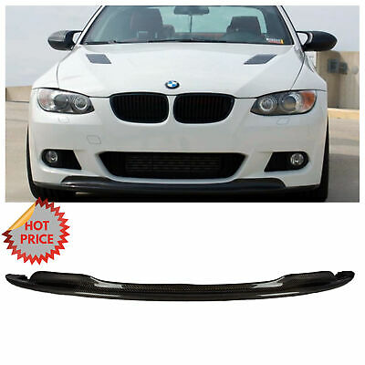 Bmw E92 2007-09 Arkym Style Carbon Fiber Front Lip For Pre Lci Mtech Bumper Only