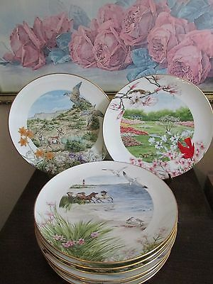 Set Of 12 Lenox America's Almanac Collector Plate Limited Edition Made In USA