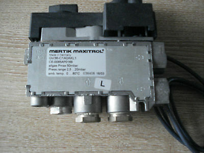 Mertik Maxitrol GV36 Gas Fire Control Valve, GV36-C1AOAKL1 Remote Upgradable