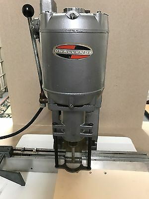 Challenge  Model JO Paper Drill Punch Single Hole Spindle