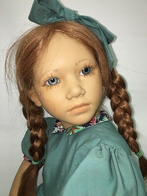 """27"""" Adrienne by Annette Himstedt w/Box, Pre-owned, Sweet Face"""