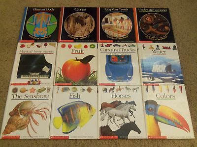 Lot of 12 Scholastic A First Discovery Book Set - EUC - TEACHER