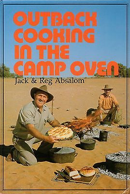 Outback Cooking in the Camp Oven BOOK Cookbook Absalom HC