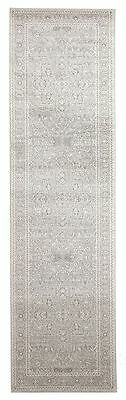 New Hallway Runner Rug Silver Traditional Extra Long FREE DELIVERY Assorted Size
