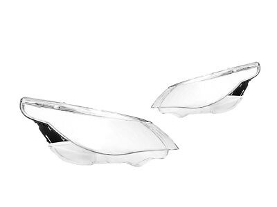 04-07 BMW E60 5-Series Replacement Headlight Lens - Clear
