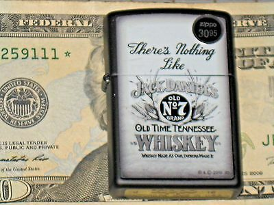 ZIPPO Lighter Their is nothing Like JACK DANNIEL'S Old Time TENNESSEE WHISKEY #7